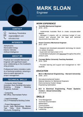 Top CV Format
