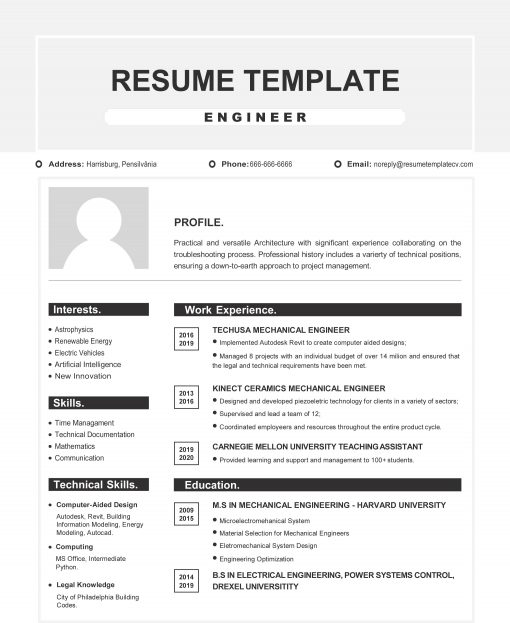 IDAA000121-Resume-Template-0010-Grey-1-Page-Engineering-With-Picture