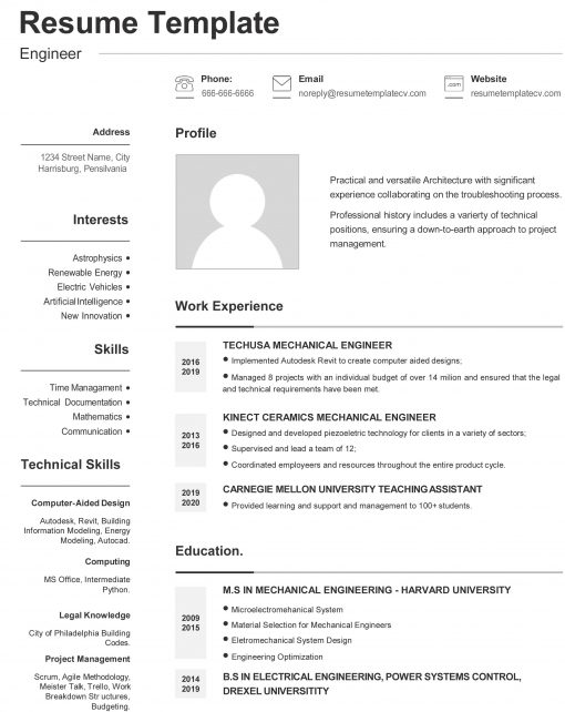 IDAA000122-Resume-Template-0011-Grey-1-Page-Engineering-With-Picture