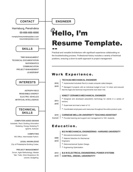 IDAA000139-Resume-Template-0006-Black-1-Page-Engineering-No Picture