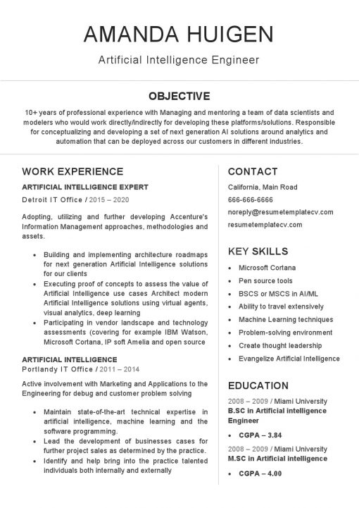 IDBB000001-resume-template-white-1-page-artificial-intelligence-engineer-no_pic