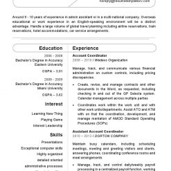 IDBB000009-resume-template-white-1-page-Account-Coordinator-no_pic