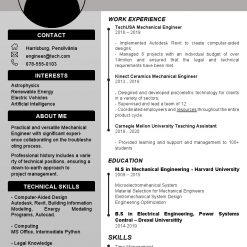 IDBB000010-resume-template-white-1-page-Engineer-with_pic