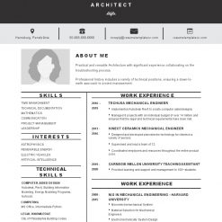 IDBB000018-resume-template-white-1-page-Architect-with_pic