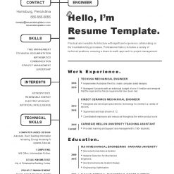 IDBB000020-resume-template-white-1-page-Mechanical_Engineer-no_pic