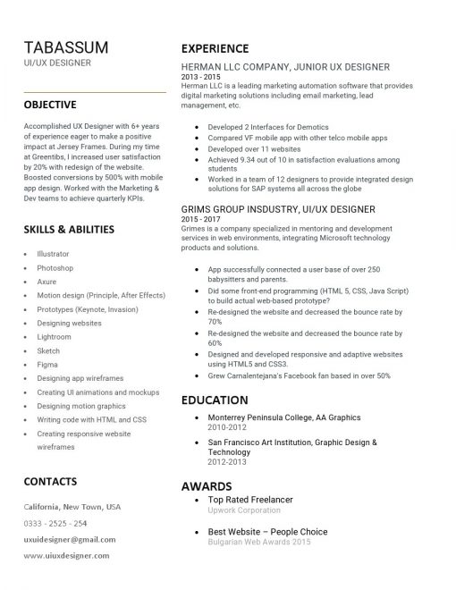 IDBB000031-resume-template-white-1-page-UI-UX-Designer-no_pic