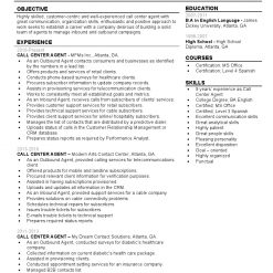 IDBB000037-resume-template-color-1-page-Call-Center-Agent-no_pic