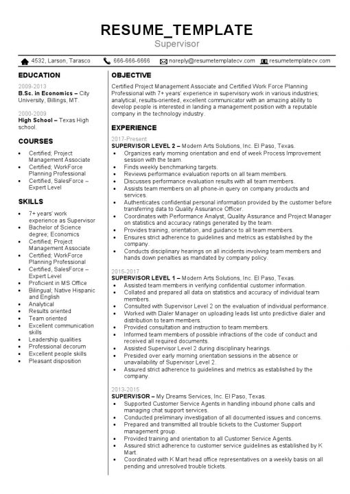 IDBB000042-resume-template-color-1-page-Supervisor-no_pic