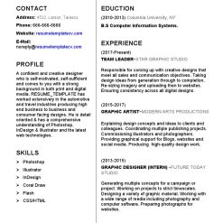 IDBB000044-resume-template-white-1-page-Graphic Designer-no_pic
