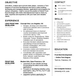 IDBB000065-resume-template-white-2-page-Front-End-Developer-no_pic1