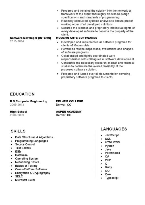 IDBB000067-resume-template-white-2-page-Softtware-Developer-with_pic2