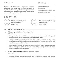 IDBB000071-resume-template-white-2-page-Technical-Support-Specilist-no_pic1