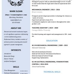 IDBB000078-resume-template-color-1-page-Mechanical_Engineer-no_pic