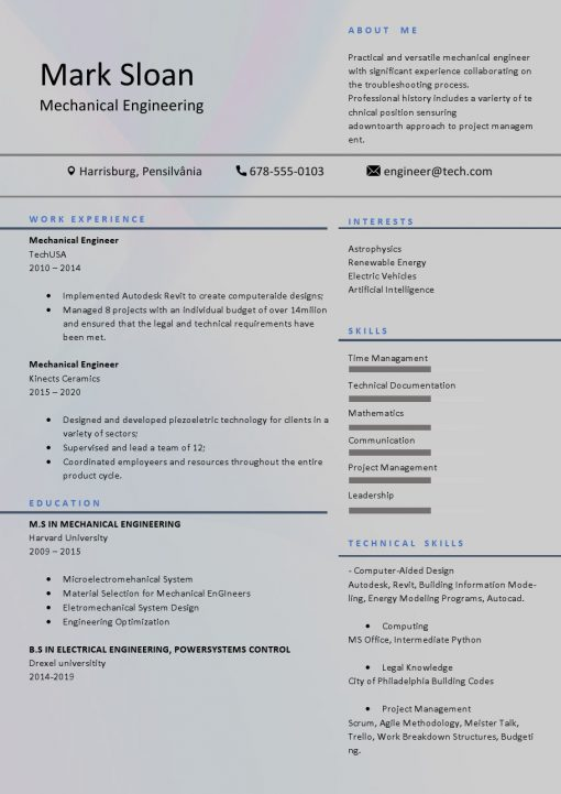 IDBB000081-resume-template-color-1-page-Mechanical_Engineer-no_pic