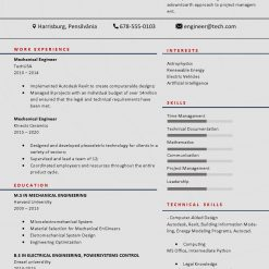 IDBB000082-resume-template-color-1-page-Mechanical_Engineer-no_pic