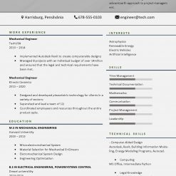 IDBB000083-resume-template-color-1-page-Mechanical_Engineer-no_pic