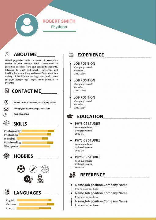 IDBB000087-resume-template-color-1-page-Physician-with_pic